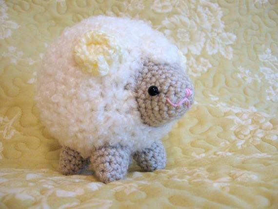 Items similar to Amigurumi Crochet Pattern - Sheep Cloud ...