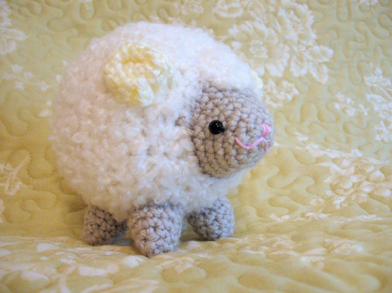 Etsy Amigurumi Sheep : Amigurumi Crochet Pattern Sheep Cloud by HomemadeZen on Etsy