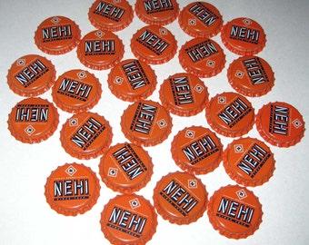 Vintage Bottle Caps Nehi Orange Set of 25