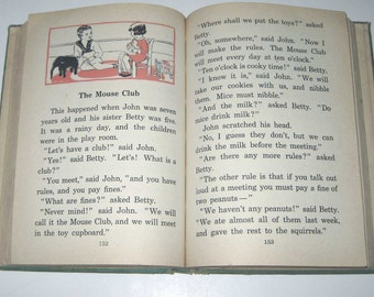 Munching Peter and Other Stories Vintage 1930s Children's School Reader or Textbook