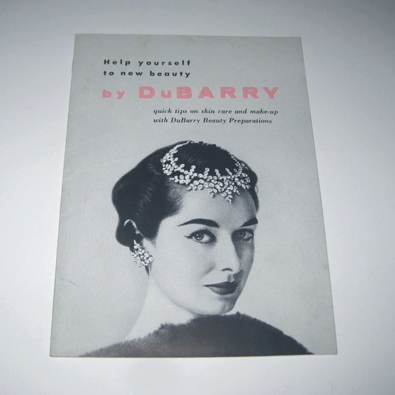 Vintage 1950s Help Yourself to New Beauty Booklet by DuBarry