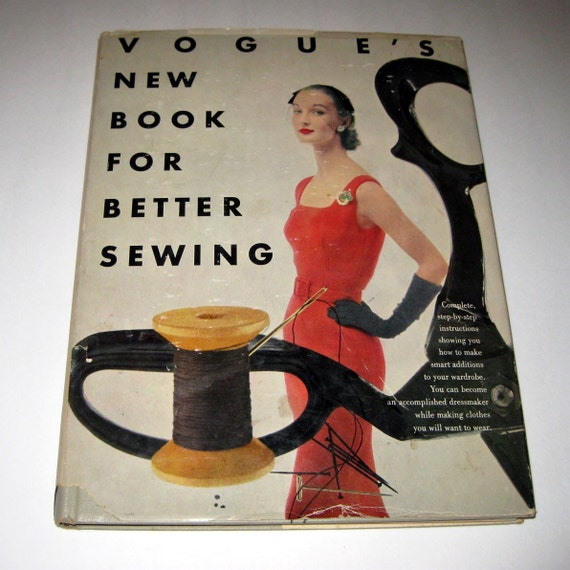 Vintage 1950s Vogue's New Book For Better Sewing