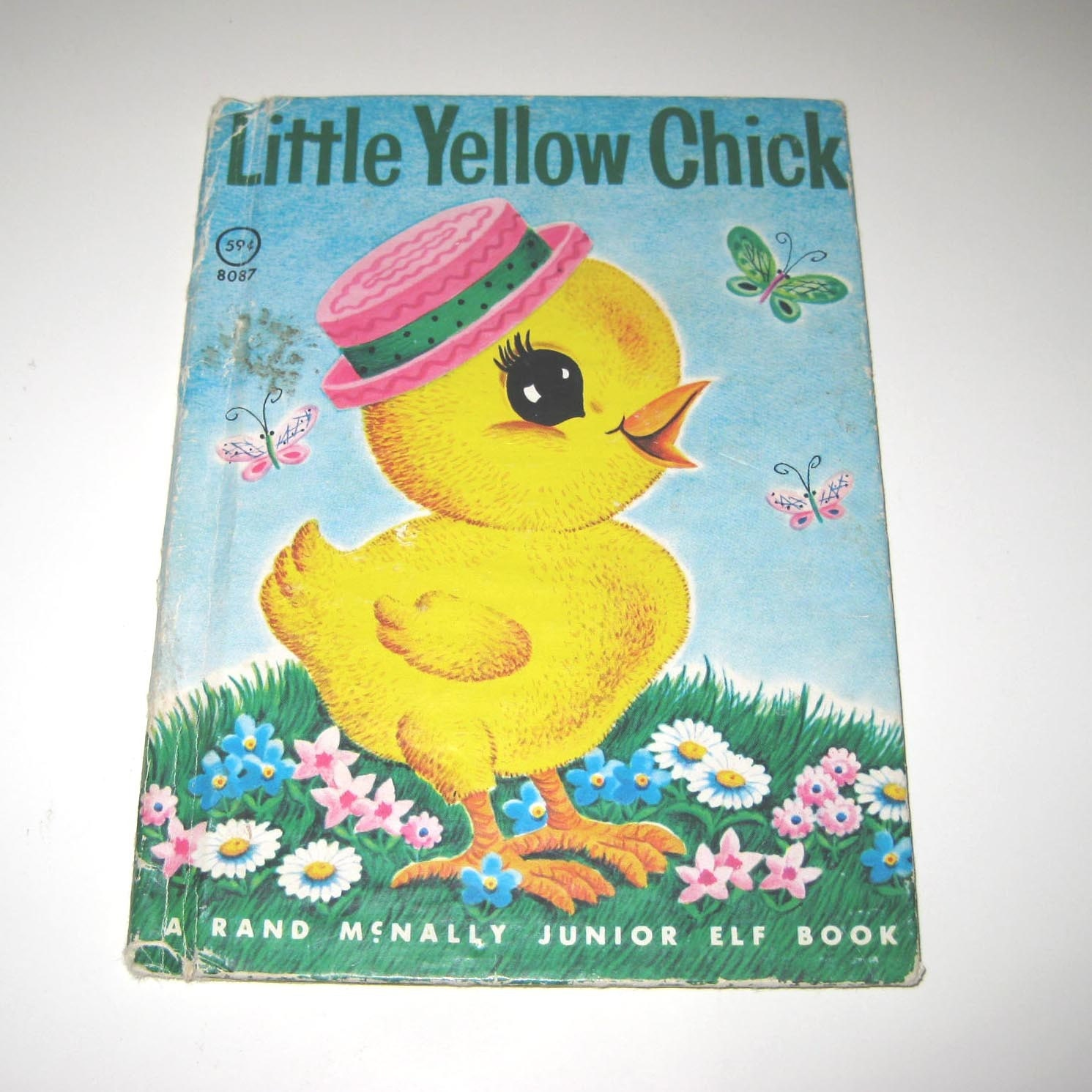 Vintage 1960s Childrens Book Entitled Little Yellow Chick by