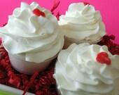 40% OFF Strawberries and Champagne Cupcake Bath Bomb