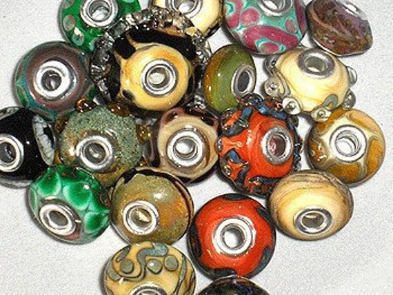 NEWLY UPDATED!  Hannah Rosner Lampwork Soft Glass (104COE) Color Reactions Glass Beads Tutorial