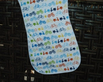 Burp Cloth, bicycles, bikes, scooters,motorcycles
