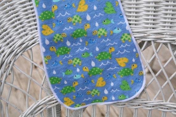 Turtle Burp Cloth SALE