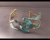 Tree frog cuff bracelet