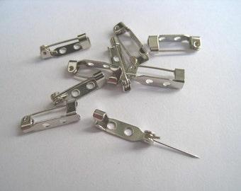 15 mm  pin back - set of 48 pcs -