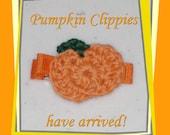 Pumpkin Clippies