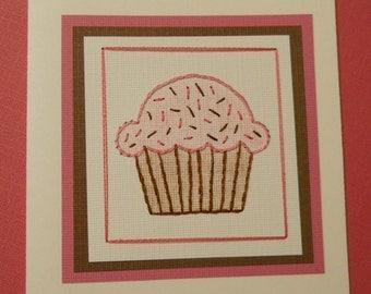 Sweet Cupcake Card / five pack