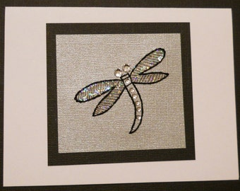 Dragonfly Note Card / Pack of Five
