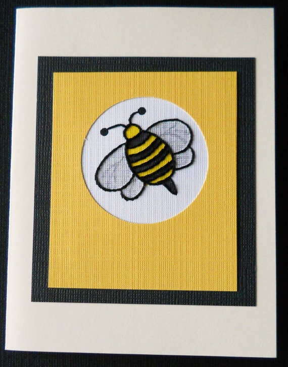 Bumblebee Note Cards / Pack of Five