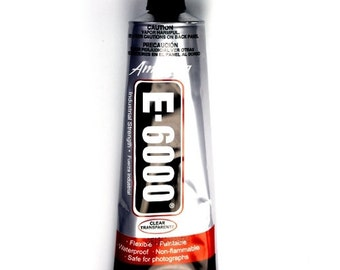 E-6000 Craft and Jewelry Adhesive 3.7 oz Tube A08
