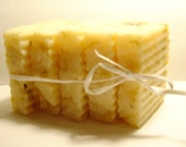 3 oz Natural JASMINE  scented soap VEGAN aromatherapy Rx for happiness  Raises the spirits
