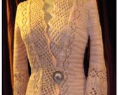 Colette cardigan PDF knitting pattern