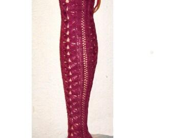 Marlaina Stockings Knitting Yarnpack and Pattern