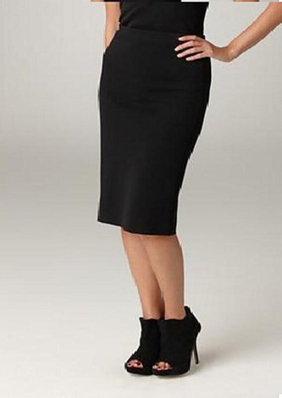 plus sized pencil skirt knitting pattern