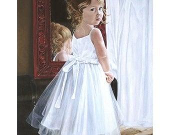 The Princess ORIGINAL Oil Painting 24 x 30
