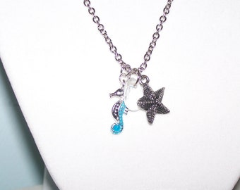 Sand and Surf Beach Necklace