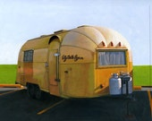 Airstream Gold - limited edition archival print 8/100 - leahgiberson