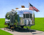 American Airstream - limited edition archival print 43/100