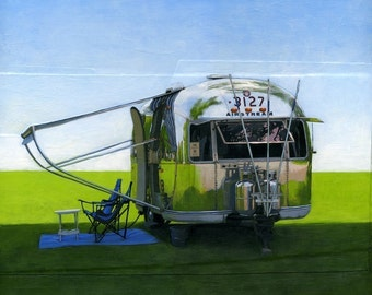 Airstream Shade - limited edition archival print 29/100