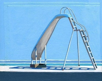 Slide - limited edition giclee print 48/100