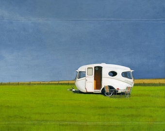 Willerby - limited edition archival print 59/100