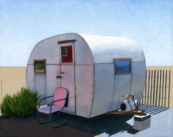 Desert Camper - limited edition archival print 51/100