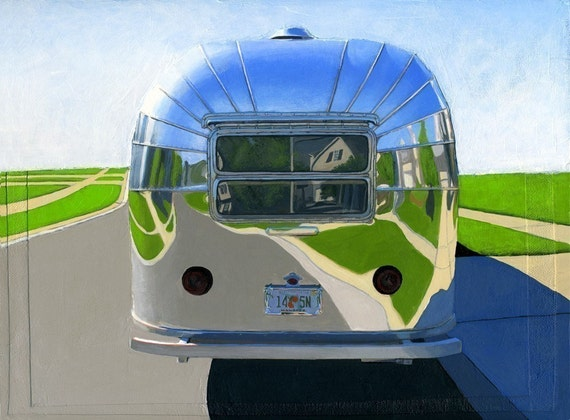 Rear View - limited edition archival print 96/100 - As seen in WEST ELM CATALOG
