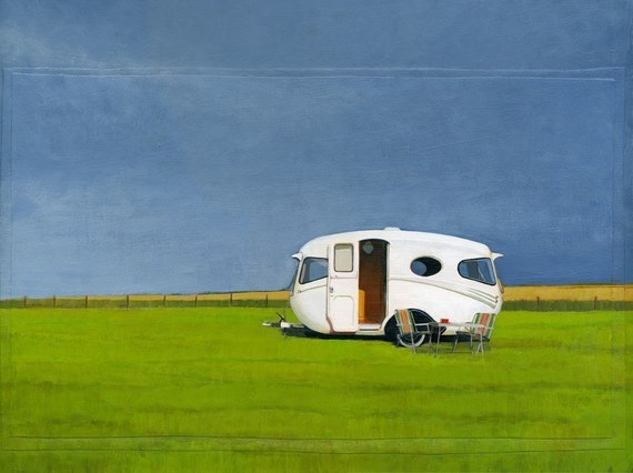 Willerby - limited edition archival print 58/100