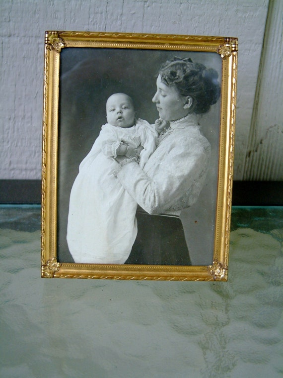 Small Framed Portrait of Mother and Child