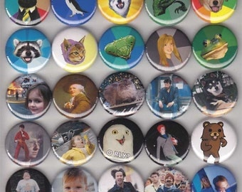 25 Internet Meme Buttons/Pinbacks