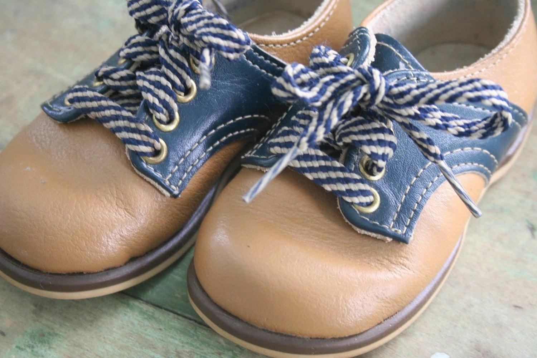 Vintage Saddle Shoes Baby Boy