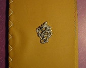 DRAGON Embellished Hand Bound Book (Blank Journal/Sketchbook)