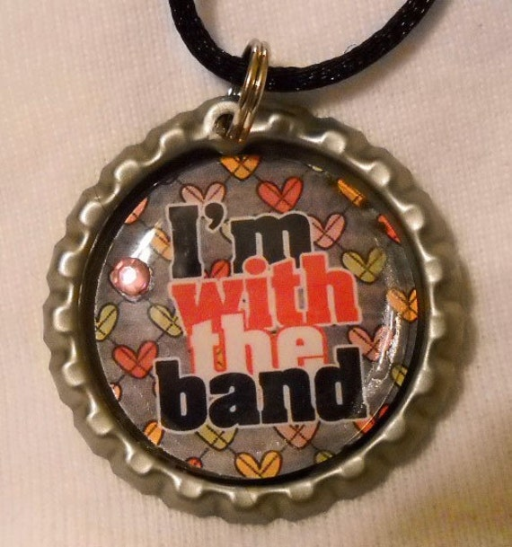 I'm With the Band Bottle Cap Necklace