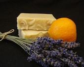 Citrus Lavender Artisan Soap with Organic Oils