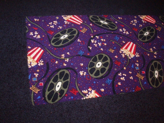 5x8 Ft Custom Movie Theatre Room Shag By Creativecarpetdesign