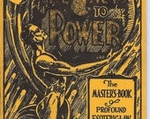 Vintage 1930's  The Key to Power by Lewis de Claremont,c.1938 Revised Edition, Magic Occult The Masters Book Profound Esoteric Law