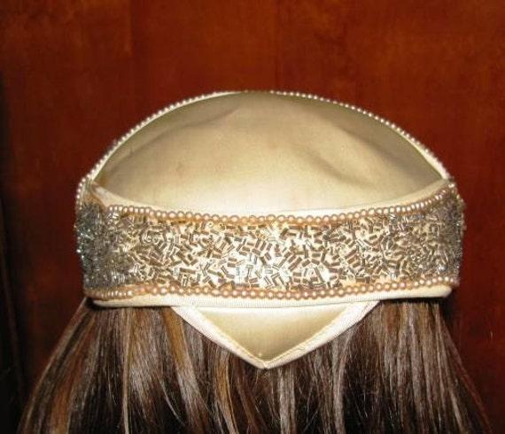 Items Similar To Vintage Head Piece Juliet Cap Las Vegas Show Girl