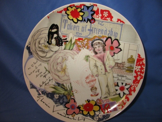 1977 Friendship Porcelain Plate Gloria By Theidconnection