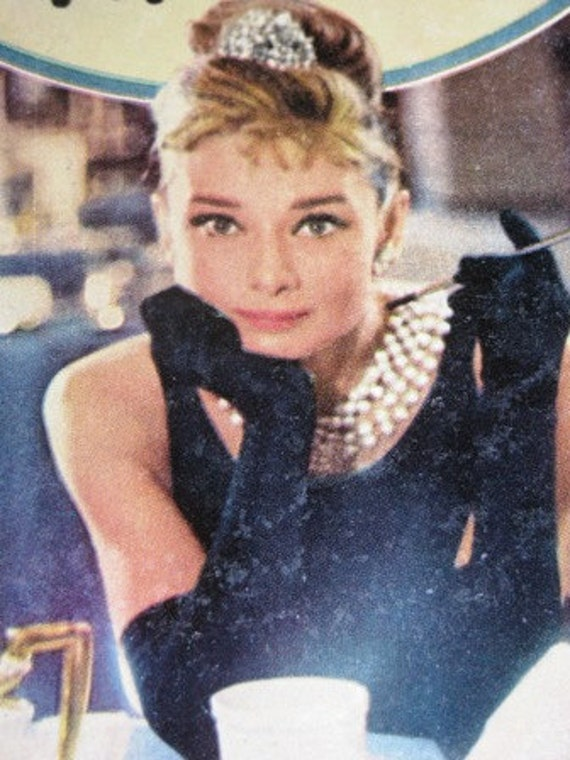 Vintage 1960's Book c.1961 Breakfast at Tiffany's by Truman  Capote, The baddest little good girl you've ever seen, Audrey Hepburn Hollywood