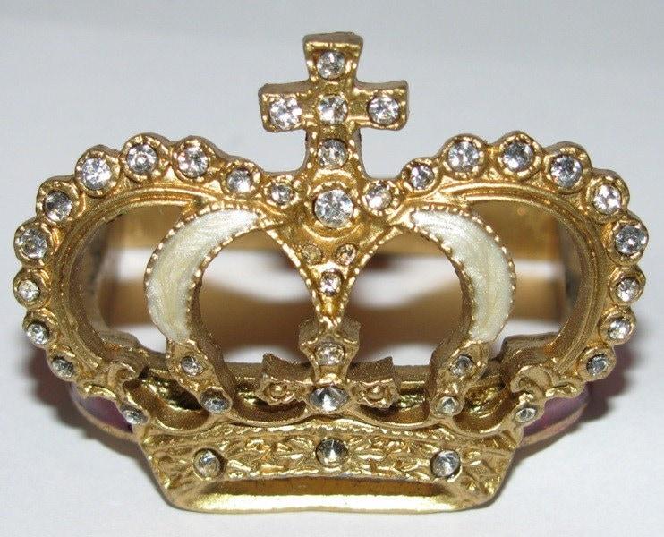 Napkin Rings 4 Crowns Princess Crown Royal Crowns Ornate