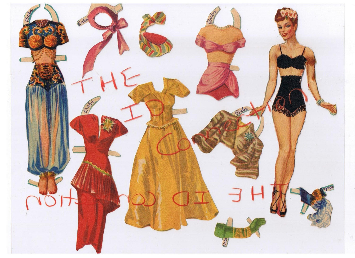 vintage paper dolls for sale Paper dolls remain a cut above by: chriss swaney said the growth of internet shopping has sparked more competitive bidding for rare, vintage paper dolls.
