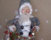 SALE! French Inspired Shabby Whimsical Shabby Prim Belshnickel Santa In Shop Coupon Code Item