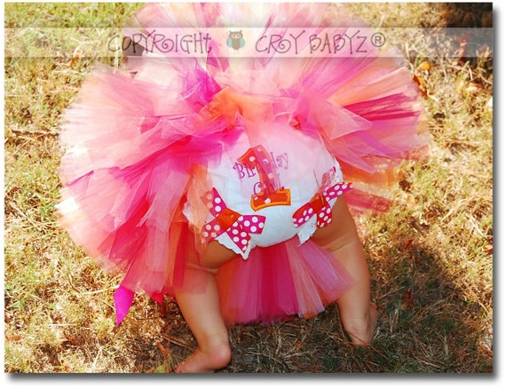 Girls Birthday Girl Outfit Baby Bodysuit with Coordinating Birthday Number Bloomers SUNKIST SWEETIE