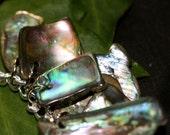 Abalone Shell Charm Bracelet
