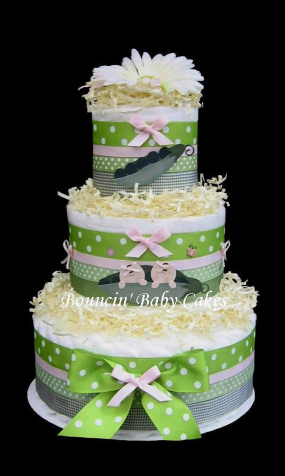 Two Peas In A Pod Cake Decorations