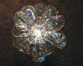Recycled Plastic Water Bottle Flower  Broach
